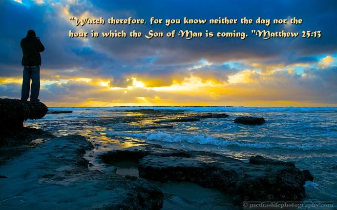Matthew 25:13