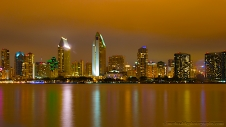 Downtown San Diego from Coronado