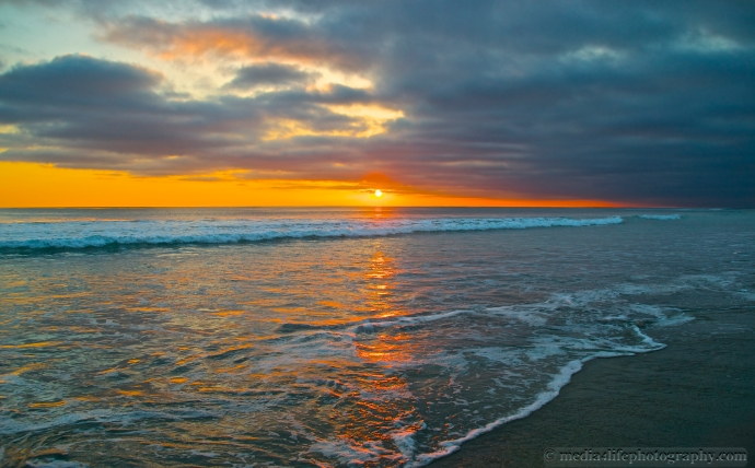 Sunset in Solana Beach, CA