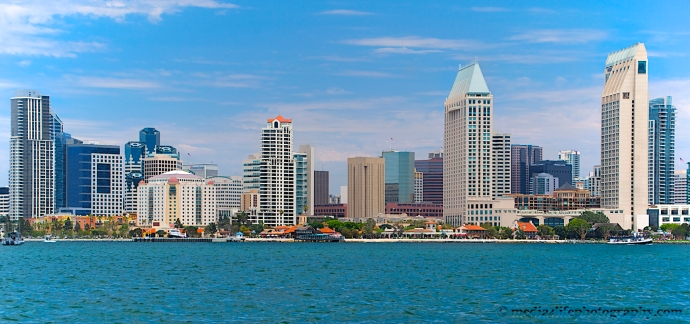 Taken from across the bay on Coronado Island
