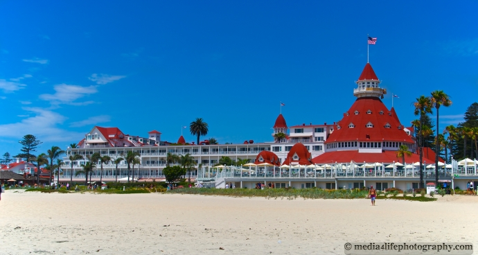 The Del on Coronado Island, San Diego, CA