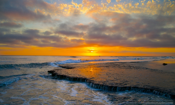 Swami's Beach in Encinitas, California
