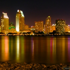 San Diego from across the Bay